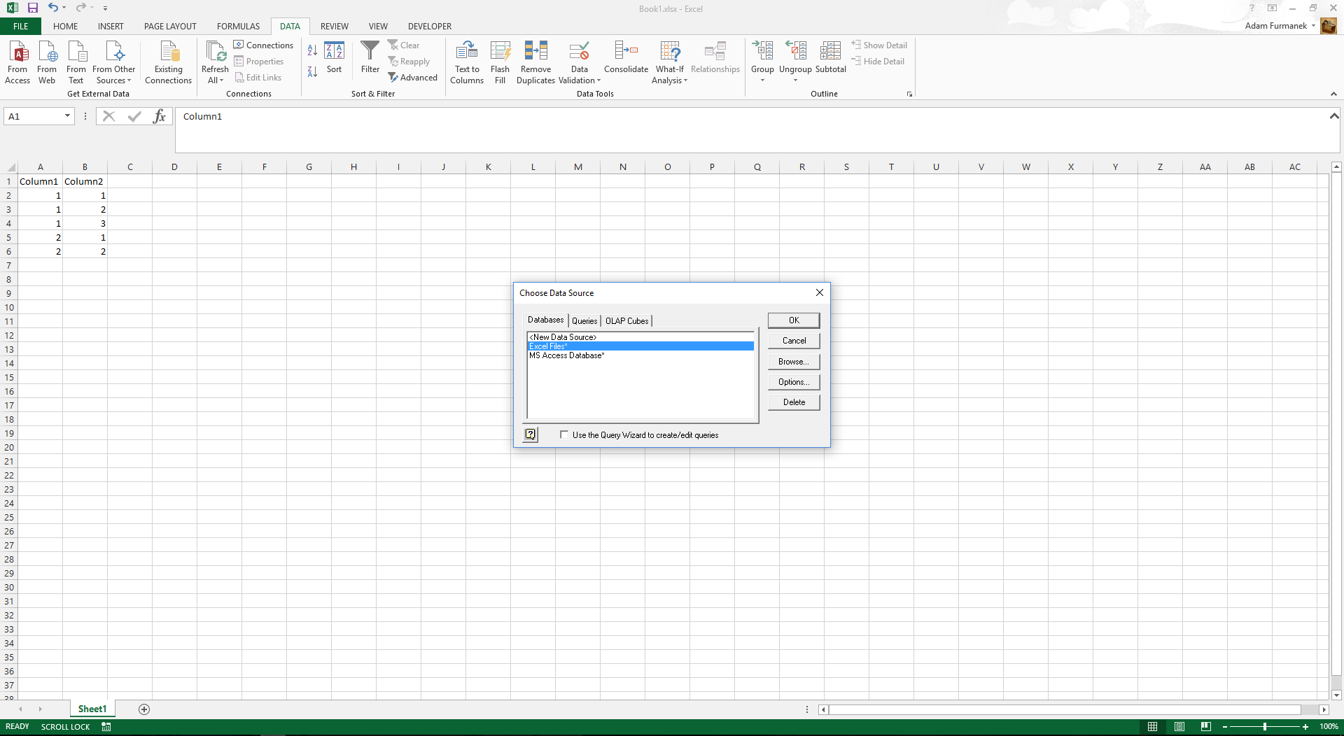 Excel Files